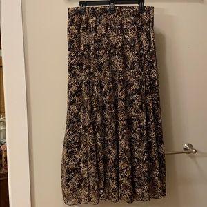 Women's long skirt.
